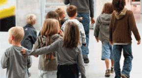 Un nouvel escalier pour les enfants