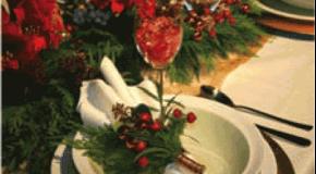 10 astuces pour dresser une belle table de Noël