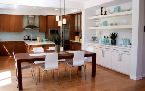 La cuisine, ouverte et design