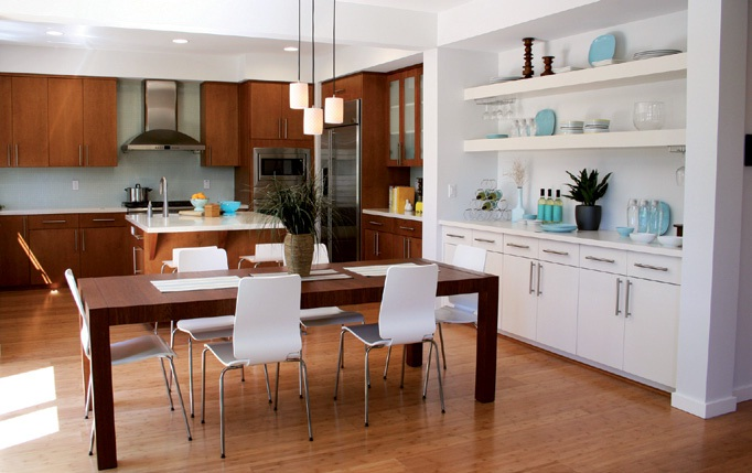 La cuisine ouverte et design 2